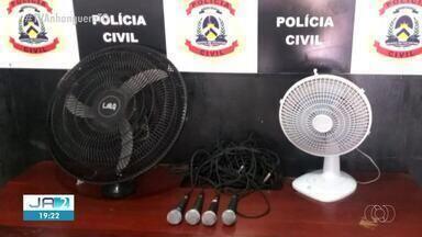 Objetos furtados em igreja são recuperados pela polícia - Objetos furtados em igreja são recuperados pela polícia