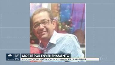 Polícia confirma que professor que passou mal em escola morreu por envenenamento - Investigadores disseram que ele ingeriu veneno de rato.
