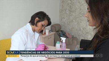 Pesquisa do Sebrae mostra quais são os setores promissores para 2020 - Área de serviços pessoais é o primeiro lugar da lista.