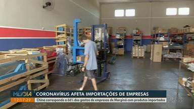 Coronavírus afeta importações de empresas de Marginá - China corresponde a 66% dos gastos de empresas de Marginá com produtos importados.