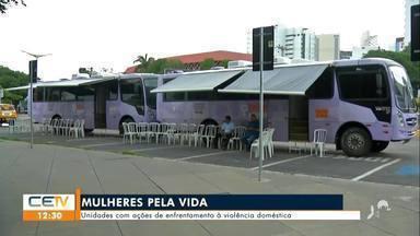 Unidades móveis viajam pelo Ceará com ações de enfrentamento à violência doméstica - Saiba mais no g1.com.br/ce