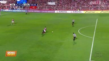 Atlético-MG perde por 3 a 0 para o Unión e se complica na Sul-Americana - Atlético-MG perde por 3 a 0 para o Unión e se complica na Sul-Americana