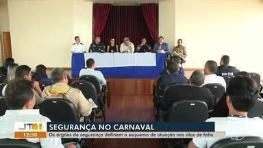 Órgãos de segurança definem ações para Carnaval em Santarém e Alter do Chão - 500 policiais e 250 seguranças particulares vão atuar na quadra carnavalesca.
