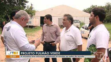 Projeto Pulmão Verde: conheça a iniciativa que leva educação ambiental para escolas - Saiba mais sobre a iniciativa na reportagem.
