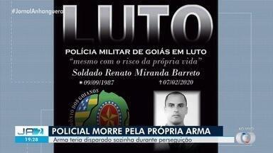Soldado da PM morre após ser atingido por tiro em perseguição em Alto Paraíso de Goiás - Principal suspeita é que ele tenha sido baleado acidentalmente pela própria arma. Ele tentava prender um suspeito de furto.