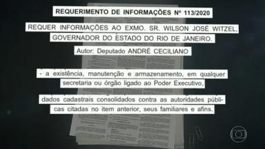 Alerj cobra de Witzel informações sobre supostos dossiês e grampos - O presidente da Alerj suspeita que os deputados estejam sendo espionados.