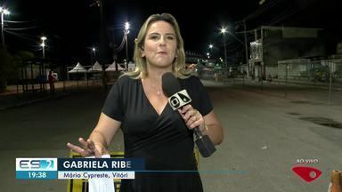 Escolas de samba se preparam para desfile no Sambão do Povo, em Vitória - Os ensaios técnicos continuam acontecendo.