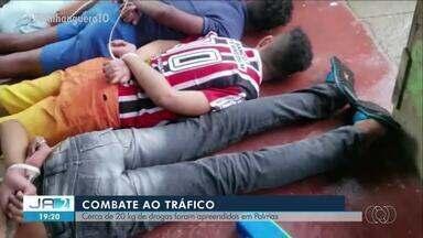 Polícia apreende 20 kg de drogas na região sul de Palmas - Polícia apreende 20 kg de drogas na região sul de Palmas