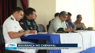 Órgãos de segurança definem atuação durante o carnaval em Santarém - Haverá mudanças nos itinerários dos transportes coletivos; confira na reportagem.