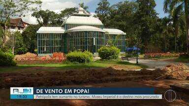 Petrópolis tem aumento expressivo no turismo e Museu Imperial é o destino mais procurado - O turismo foi responsável por injetar mais de 700 milhões de reais na economia local.
