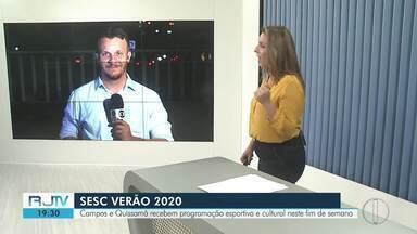 Campos e Quissamã recebem programação esportiva e cultural neste fim de semana - O repórter João Villa Real está ao vivo no Farol trazendo informações para o RJ2.