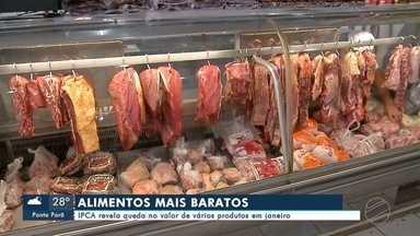 Alimentos estão mais baratos em MS - IPCA revela queda no valor de vários produtos em janeiro