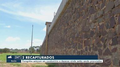 Diversos fugitivos de presídio Pedro Juan Caballero ainda são procurados. - Dois foragidos foram encontrados em um condomínio, mas ainda existem dezenas que estão sendo procurados.