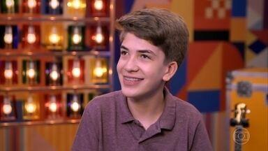 Conheça Venicios Melo - Ele tem 14 anos e é de Ouro Branco (AL)
