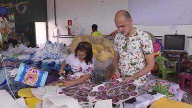 Escolas de samba de BH se preparam para desfilar no carnaval 2020 - Desfiles serão transmitidos ao vivo pelo G1.