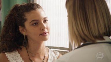 Lígia garante que nunca soube das falcatruas de Lara - Rita fica aliviada ao saber que Lígia será representada por outro advogado