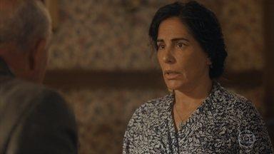 Lola descobre que Carlos fez um seguro de vida em seu nome - Ela fica surpresa ao receber a papelada