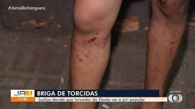 Torcedor do Goiás vaI a juri popular acusado de matar torcedor do Vila Nova, em Goiânia - Crime aconteceu em setembro de 2019.