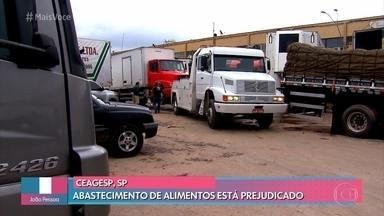 Ceagesp segue fechada nesta quarta-feira - A maior central de abastecimento de alimentos in natura da américa latina está fechada desde segunda, depois que uma enchente atingiu o local. Mais de 7 mil toneladas de produtos foram inutilizados