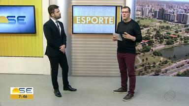Thiago Barbosa conta os destaques do esporte - Thiago Barbosa conta os destaques do esporte.