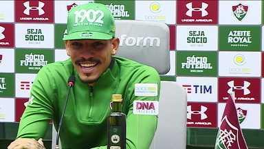 Gilberto fala sobre o confronto contra o time titular do Flamengo - Gilberto fala sobre o confronto contra o time titular do Flamengo