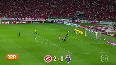 Internacional vence a LAU por 2 a 0 pela segunda fase da pré-Libertadores - Internacional vence a LAU por 2 a 0 pela segunda fase da pré-Libertadores