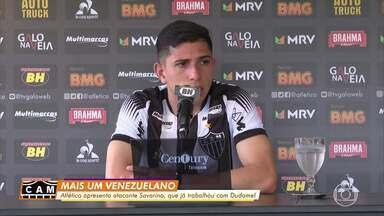 Mais um reforço na área: Atlético-MG apresenta o meia venezuelano Jefferson Savarino - Mais um reforço na área: Atlético-MG apresenta o meia venezuelano Jefferson Savarino