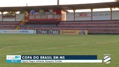 Águia Negra enfrenta Sampaio Corrêa pela primeira fase da Copa do Brasil - Só a vitória interessa para os sul-mato-grossenses