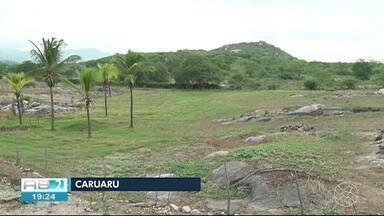 Partes da zona rural de Caruaru não registraram chuva nesta quinta-feira (13) - Dia foi de chuva na parte urbana da cidade.