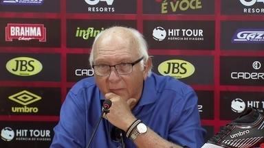 Presidente do Sport admite interesse em Jair Ventura - Presidente do Sport admite interesse em Jair Ventura