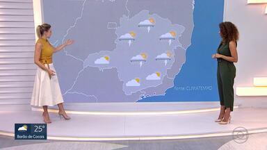 Chuva dá uma trégua em Minas Gerais - A frente fria enfraquece e a chuva reduz nos próximos dias em Belo Horizonte e em outras regiões de Minas