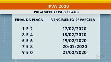 Vencimentos da 2ª parcela do IPVA começam na segunda-feira (17) - Neste ano, contribuintes não receberam boleto em casa para efetuar pagamento.