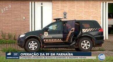 PF cumpre mandados de busca e apreensão em operação de combate a corrupção - PF cumpre mandados de busca e apreensão em operação de combate a corrupção