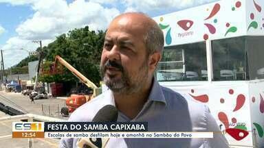 Escolas de samba desfilam nesta sexta e sábado no carnaval de Vitória - Escolas de samba desfilam nesta sexta e sábado no carnaval de Vitória.