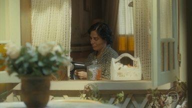 Depois de um tempo Clotilde escreve para Lola - Ela conta as novidades sobre Francisco e a alegria que impera na família