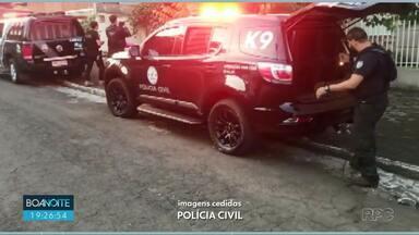 Operação prende traficante em Francisco Beltrão - Segundo a Polícia, ele seria um dos principais fornecedores de drogas do sul do país.