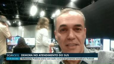Amanhã tem Sandro Dalpícolo no Jornal Nacional - Poste a sua foto assistindo o apresentador com a hashtag ou envie pelo app Você na RPC.