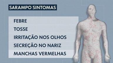 SP faz campanha contra o sarampo - Transmissão da doença é pelo ar e pode aumentar no carnaval.