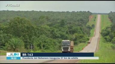 Cinco militares que seriam condecorados pelo pres. Bolsonaro sofrem acidente na BR-163 - Trecho pavimentado da rodovia foi inaugurado pelo presidente nesta sexta, 14, no Pará.