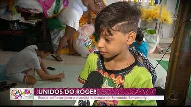 """JPB2JP: Escola Unidos do Roger vai levar para a avenida a história de Fernanda Benvenutty - Série """"Deu Samba""""."""
