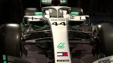 Mercedes lança o carro da temporada 2020 da Fórmula 1 - Equipe alemã busca o sexto título seguido. Lewis Hamilton pode igualar Michael Schumacher, com sete conquistas.