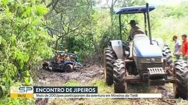 Encontro de jipeiros em Mineiros do Tietë - Mais de 200 motoristas participaram do encontro