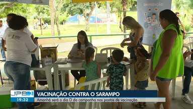 Dia D de vacinação contra o Sarampo será neste sábado (15) - Veja como vai ser a campanha.