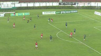 Tupynambás é derrotado pelo Uberlândia e segue sem vencer no Mineiro - Baeta sofre com expulsão no segundo tempo e perde por 3 a 1 em Juiz de Fora