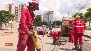 Após fortes chuvas, moradores de Belo Horizonte cobram obras para evitar problemas - Após fortes chuvas, moradores de Belo Horizonte cobram obras para evitar problemas.