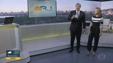 Bom dia Rio - Edição de terça-feira, 18/02/2020 - As primeiras notícias do Rio de Janeiro, apresentadas por Flávio Fachel, com prestação de serviço, boletins de trânsito e previsão do tempo.