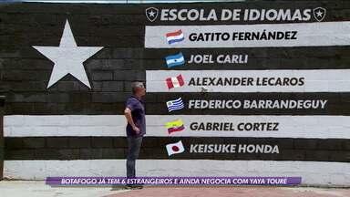 Botafogo tem recorde de estrangeiros no elenco e pode aumentar número com possível chegada de Yaya Touré - Botafogo tem recorde de estrangeiros no elenco e pode aumentar número com possível chegada de Yaya Touré