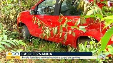Corpo de gerente de hipermercado é encontrado queimado e enterrado em mata, em Goiás - Segundo Polícia Civil, namorado confessou o crime e indicou onde havia deixado o corpo. Vítima havia sumido há uma semana.