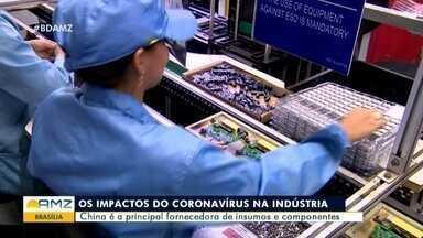 Indústrias começam a contabilizar impactos do novo coronavírus - Indústrias começam a contabilizar impactos do novo coronavírus