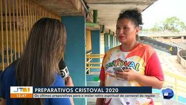 Voluntários acertam últimos detalhes para o Cristoval 2020 - Programação começa neste sábado (22).